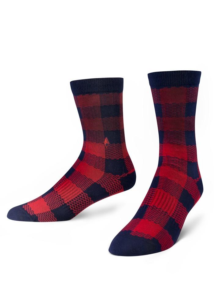 Skarpety męskie w kratę Easy Vago VA Socks