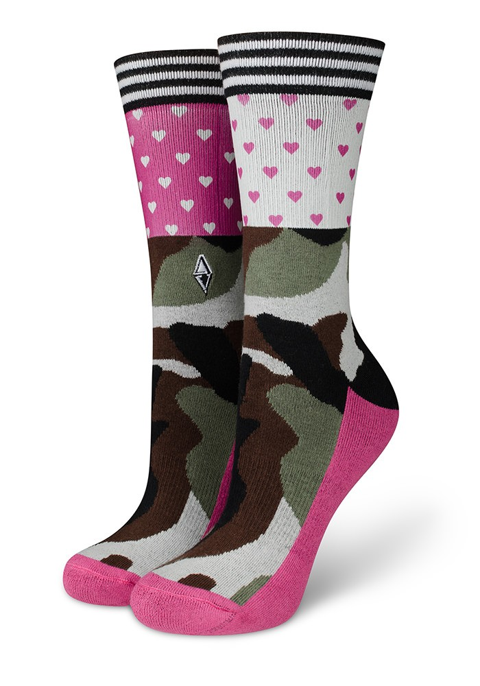 Skarpetki damskie moro Brave Lady Heart's VA Socks