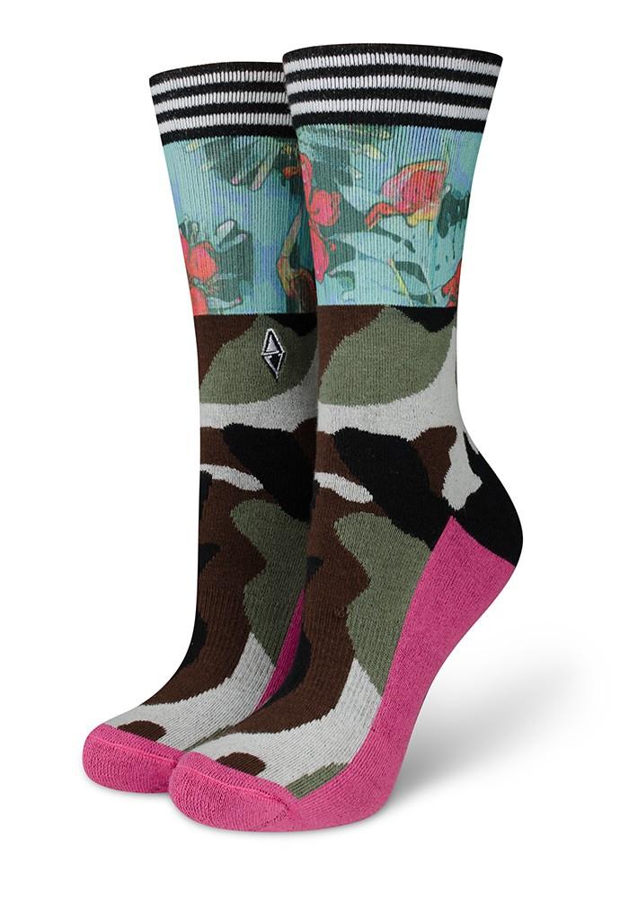 Skarpetki damskie moro Brave Lady Flamingos VA Socks