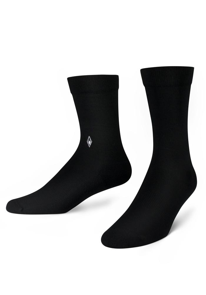 Skarpety męskie Plain Black VA Socks