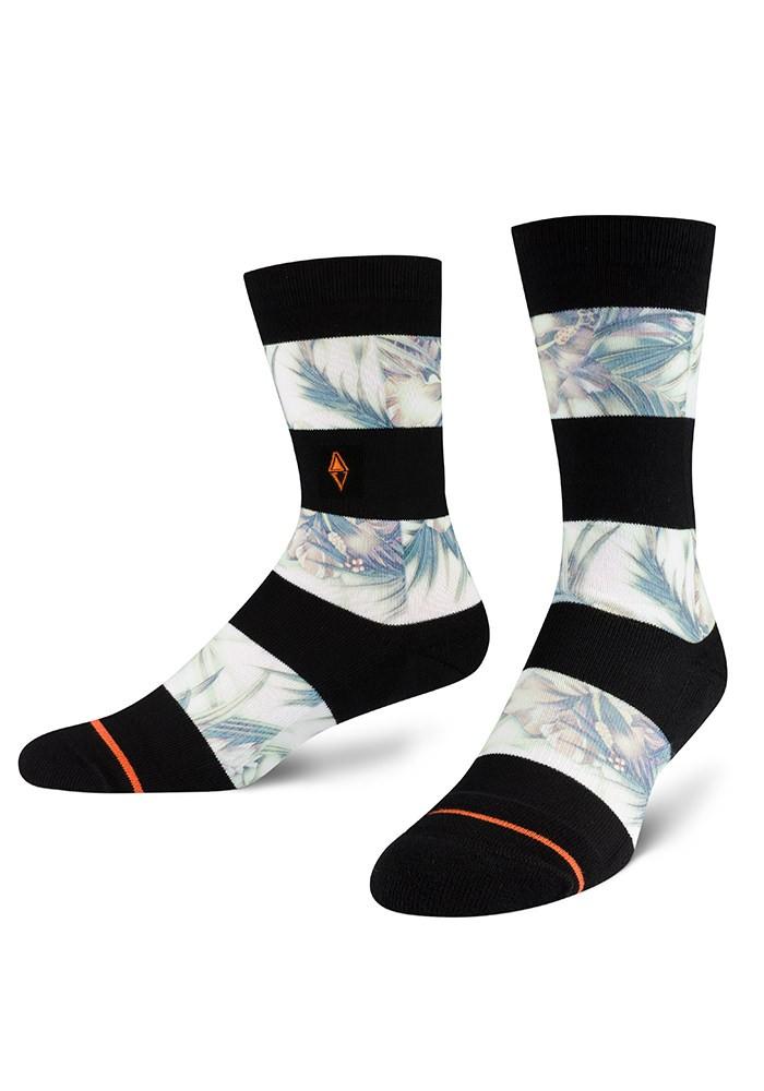 Skarpety męskie w paski Coari VA Socks