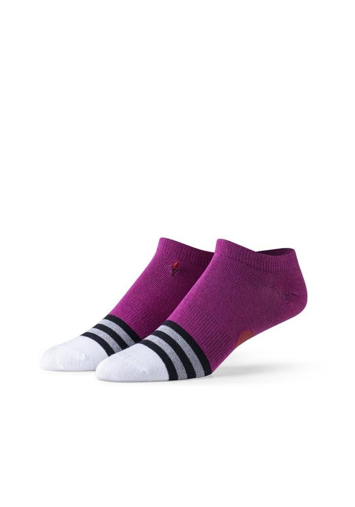 Różowe skarpetki stopki dziecięce VA Socks