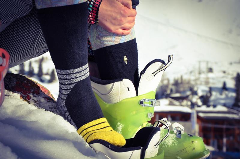 skarpety narciarskie